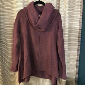 Cowl neck swing sweater - Kaisely Anthropologie